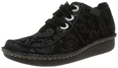 Amazon Mujer Derby es Zapatos De Para Cordones Funny Dream Clarks BxwZ80qv44