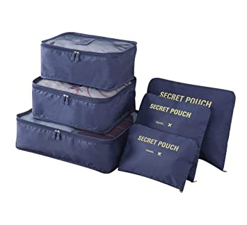 KASER VG-7635 - Organizador para maletas Azul turquesa: Amazon.es: Equipaje