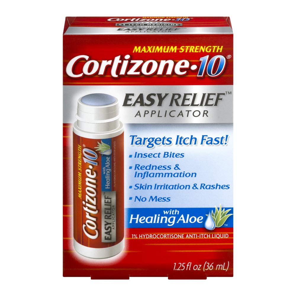 Cortizone 10 Easy Applcto Size 1.25z Cortizone 10 Easy Relief Applicator With Healing Aloe 1.25oz by Cortizone 10