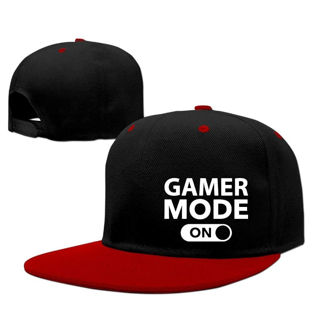 SunRuMo Gamer Mode On Hip Hop Gorras de Béisbol, Transpirables ...