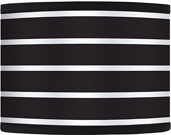 Bold black stripe giclee glow lamp shade 135x135x10 spider bold black stripe giclee glow lamp shade 135x135x10 spider mozeypictures Gallery