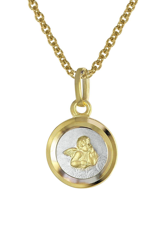 trendor Kinder-Halskette mit Engel-Anhä nger Gold 333 08560