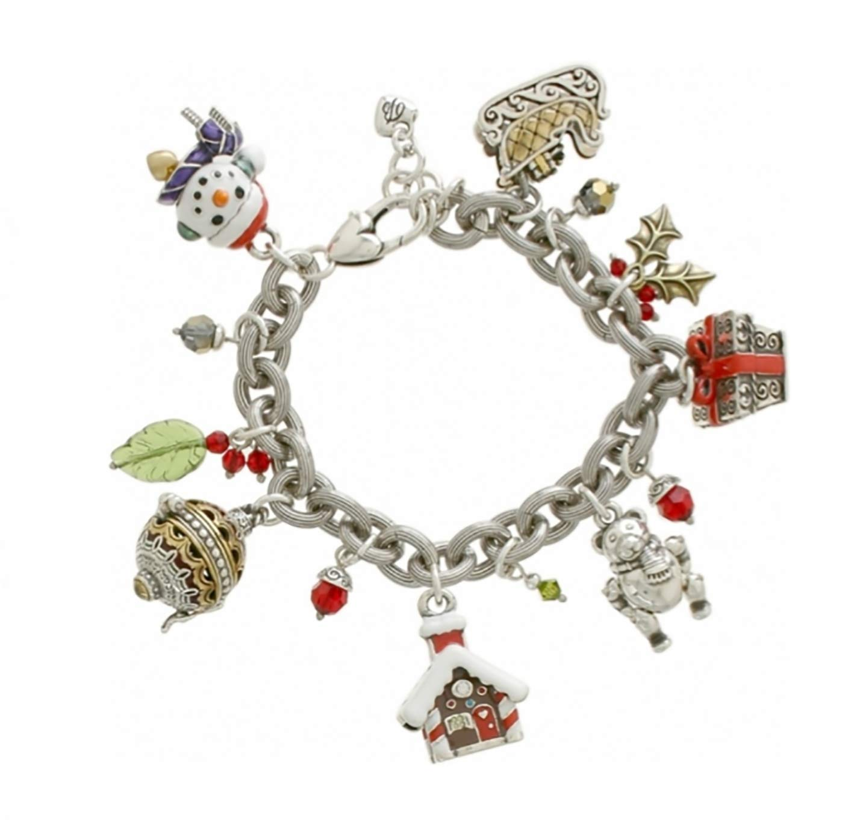 Brighton Holiday Frolic Charm Bracelet