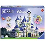 3d Puzzle 216 Pcs: Disney Castle