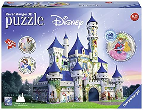 Ravensburger Disney Castle 3D Puzzle (216 Piece) - Alligator Puzzle