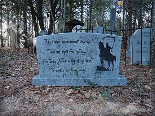 Evil Soul Studios Vintage Series The Horseman of Death Tombstone Grim Reaper Horse Halloween Prop