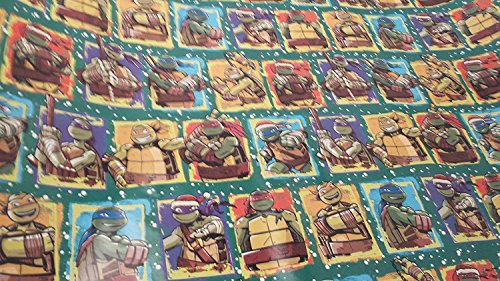 Christmas Wrapping Teenage Mutant Ninja Turtle Ralph TMNT Holiday Paper Gift Greetings 1 Roll Design Festive Wrap