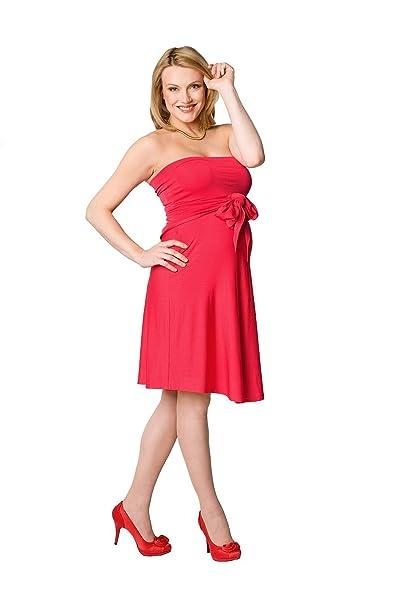 Vestido Premamá Marylin rojo L (large)