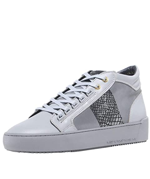 57fc48d553a7 Android Homme Men s Propulsion Mid Top Mirror Python Trainers Grey ...
