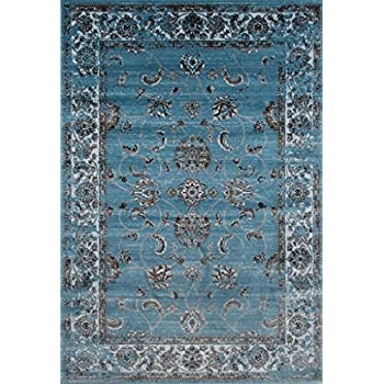 Amazon Com Premium Soft 8x11 Modern Rugs For Dining Room