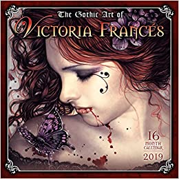 2019 The Gothic Art Of Victoria Frances 16-month Wall Calendar: By Sellers Publishing por Victoria Frances