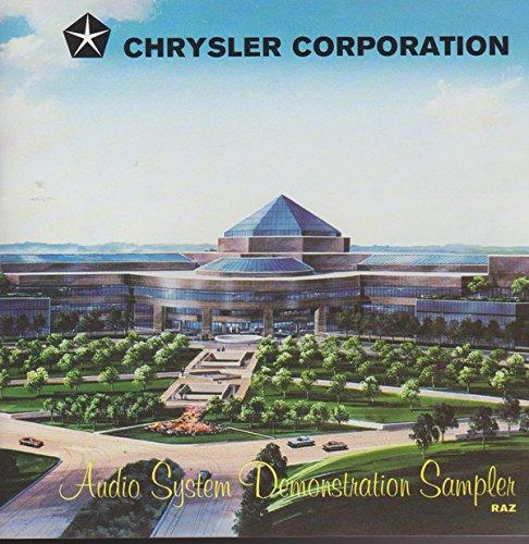 Chrysler Corporation Audio System Demonstration Sampler