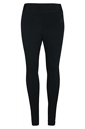 Amazon.com: Nike Bonded Mesh Women's Leggings (Large, Black/Black ...
