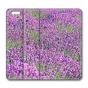 Brian114 4s Case, iPhone 4s Case - Best Protective Scratch-Proof Leather Cases for iPhone 4s Beautiful Violet Flowrs Customized Design Folio Flip Leather Case Cover for iPhone 4s Inch