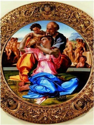 Editions Ricordi 5901N32025 - Puzzle de 1500 Piezas del Cuadro Michelangelo: Sagrada Familia: Amazon.es: Juguetes y juegos