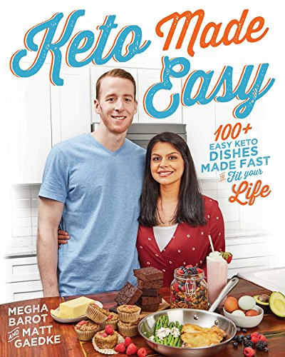 Book cover from Keto Made Easy by Megha Barot