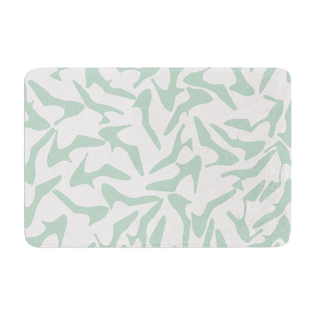 69 x 70 Shower Curtain Kess InHouse Iris Lehnhardt Tex Mix Jade Abstract Green