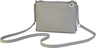 product image for Women's leather handbags - Lauren Cecchi New York - Women's handbags, Italian leather handbags - Crossbody Double Handbag