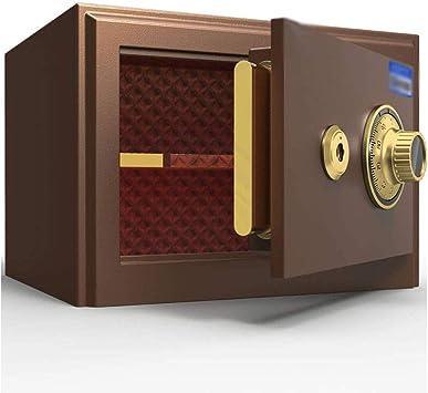 Oficina y papelería Seguridad, Pequeña llave mecánica Box Office Inicio- Ningún sistema de alarma - Multicolor - Caja 35X30X25cm-Seguros 10-30 (Color : Brown): Amazon.es: Bricolaje y herramientas