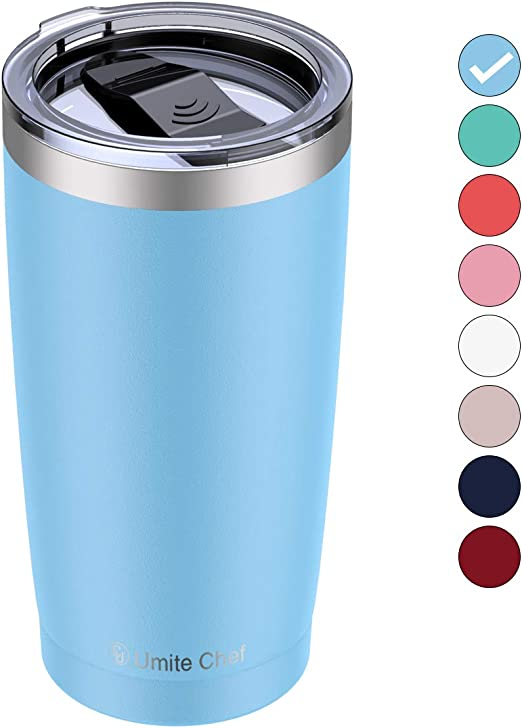 Blue 20oz Stainless Steel Tumbler