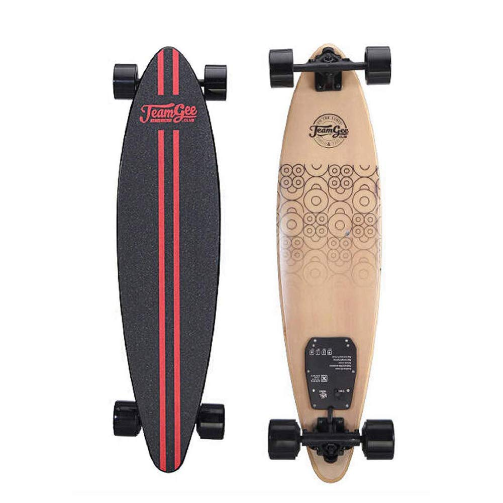 COZYSWAN Teamgee H6 Electric Skateboard 37 Electric Skateboard Longboard with Wireless Remote Control for Adults and Youths,18.6 MPH Top Speed, 760W Dual Motor, 11 Mile Range, 2 Hour Fast Charging