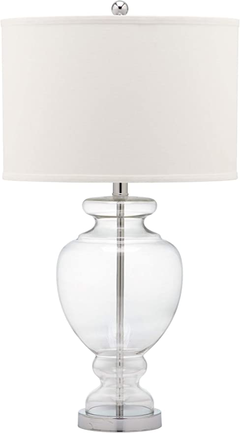 Moroccan Style White Metal and glass Table Lamp