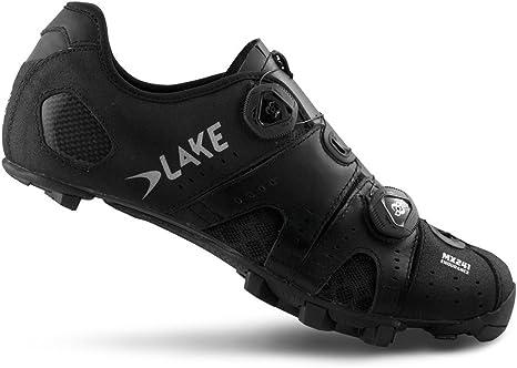 Lake MX241 MTB Carbon Shoe Black Wide
