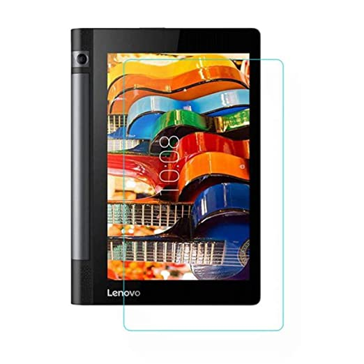 S Gripline Tablet Tempered Glass Screenguard for Lenovo Yoga Tab 3 8.0 Screen guards