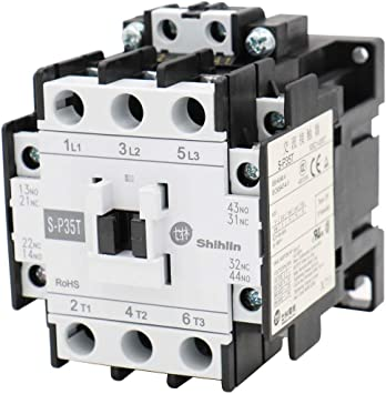 AC Contactor 220V Coil 32A 3-Phase 1NO 50//60Hz Motor Starter Overload Relay E