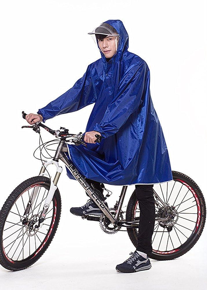 Icegrey Adulti Impermeabile Poncho Leggero PVC Lunghi Altezza Impermeabile Con cappuccio Della Bicicletta Pioggia Poncho Con Maniche