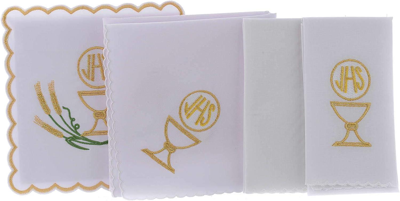 Holyart Servicio de Altar Algod?n espigas estilizadas Amarillo Oro ...