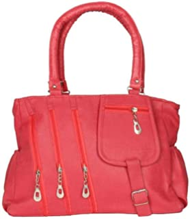 cf53a8a5439f Sameerr Collection Women Handbags With Beautiful Pink Color With Latest  Model E-17