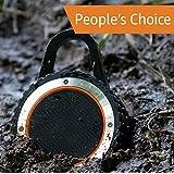 ALL-Terrain Sound Rugged Bluetooth Speaker, Rugged Outdoor Wireless Waterproof Bluetooth Speaker – Black