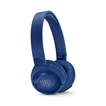 JBL Tune 600BT - Auriculares supraaurales inalámbricos con cancelación activa del ruido (batería de hasta 12 horas, BT y NC activo) color azul: Amazon.es: ...