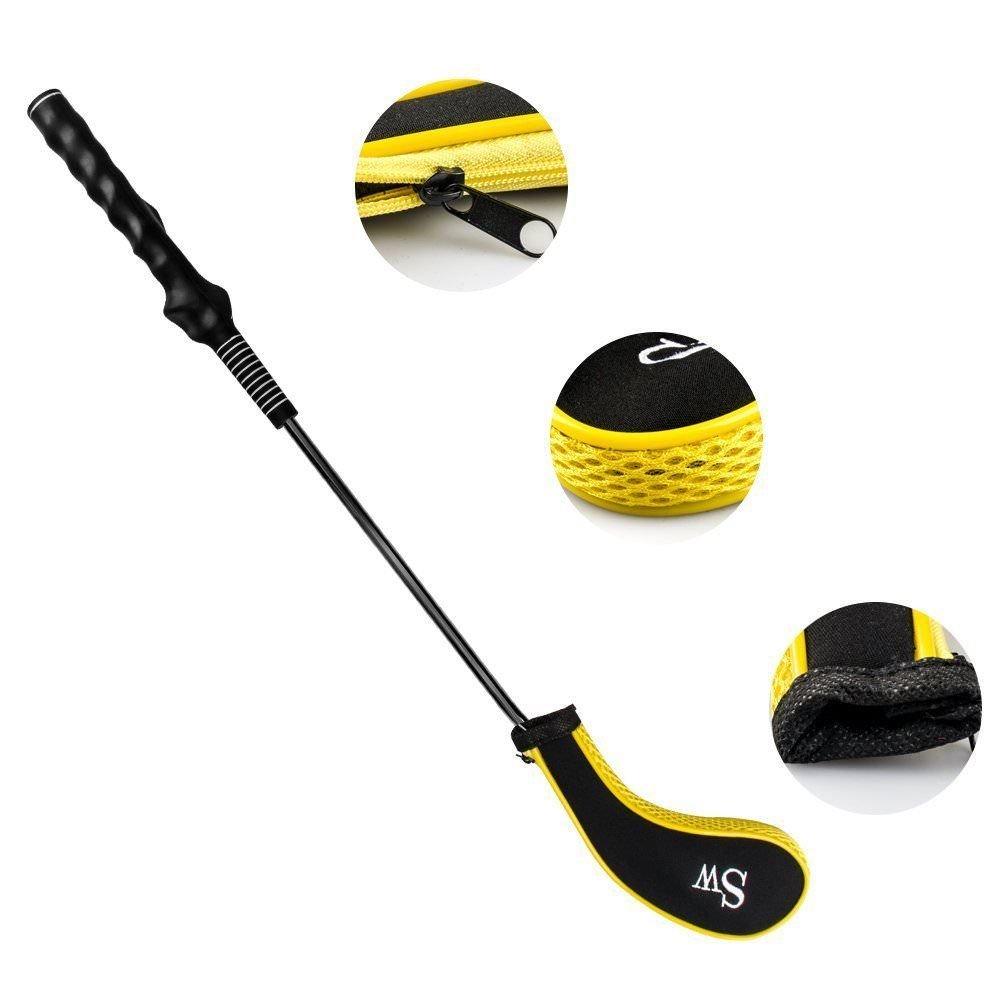 Nooshiゴルフクラブヘッドカバーファスナーのゴルフクラブアイアンカバーwith番号タグ – 10個   B07FTF9RZM