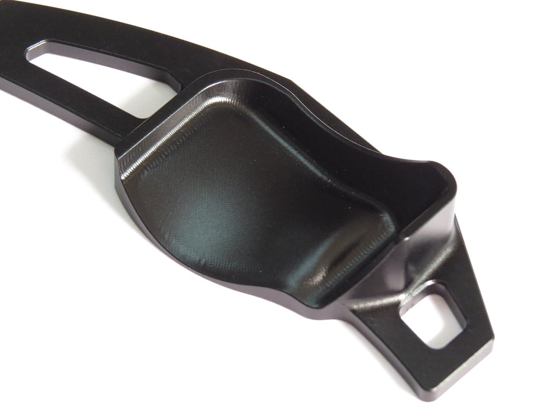 Pinalloy Colore nero estensioni per leve del cambio del volante per auto con sistema DSG