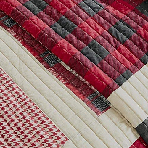 Woolrich Huntington Quilt Mini Set Full/Queen Red