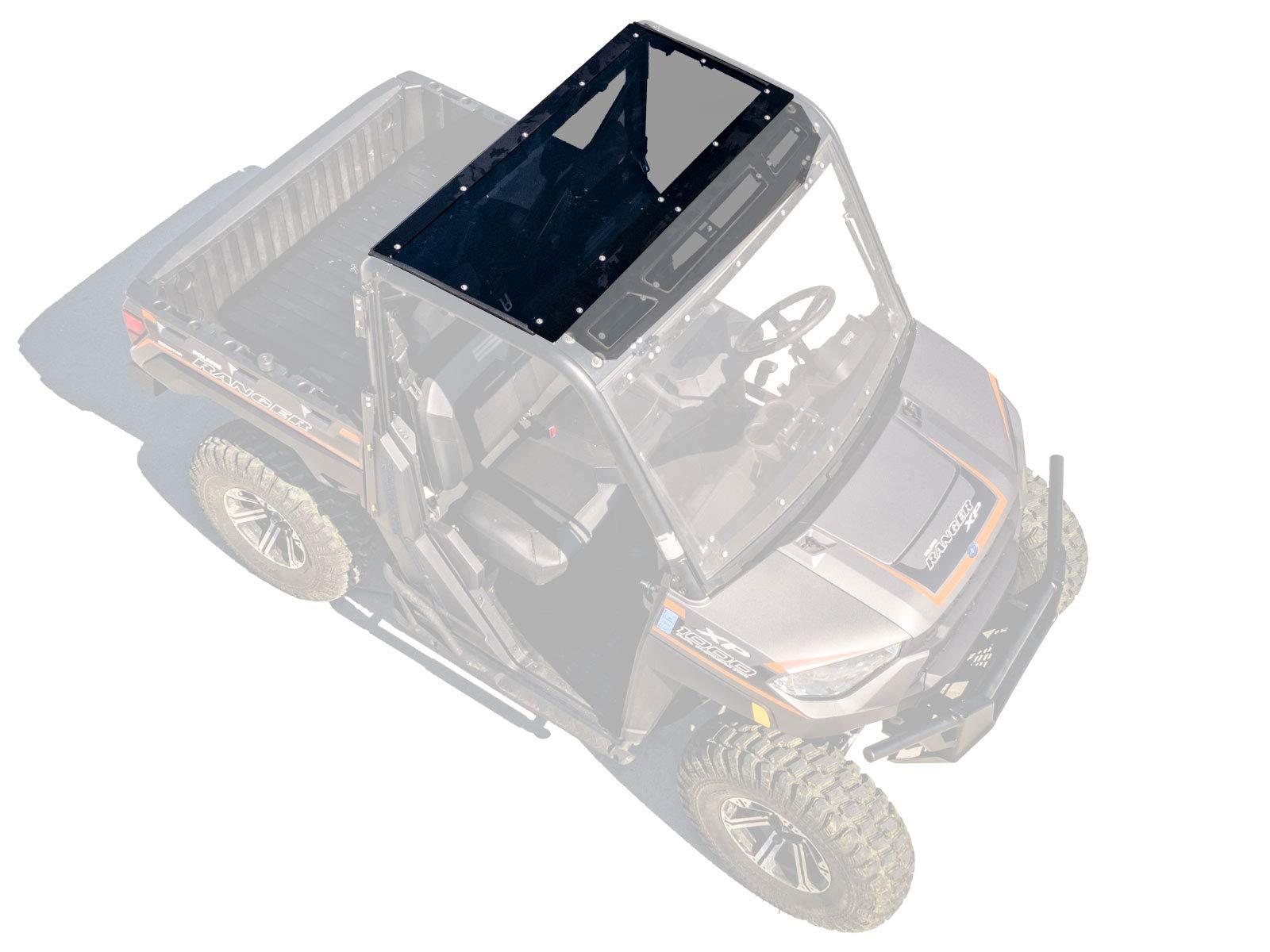 SuperATV Dark Tinted Roof for Polaris Ranger XP 900 (2013+) - Easy to Install! by SuperATV.com