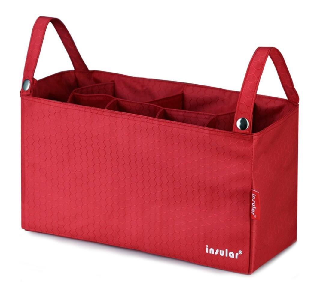 Universal Attachable Baby Stroller Organizer Bag//Diaper Bag Storage Bag Army Green