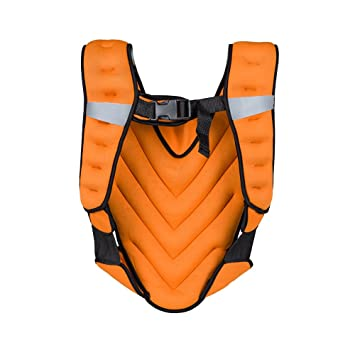 Fitness Entrenamiento 5 kg Peso Chaleco klaper Naranja de insortline ... 969f021cd0e