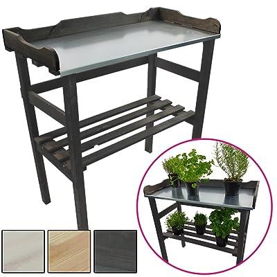 Étagère pour plantes / Table pour jardin 82 x 78 x 38 cm - Bois FSC ...