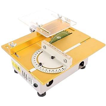 idabay Mini basher sierra de mesa copa madera acrílico metal el ...