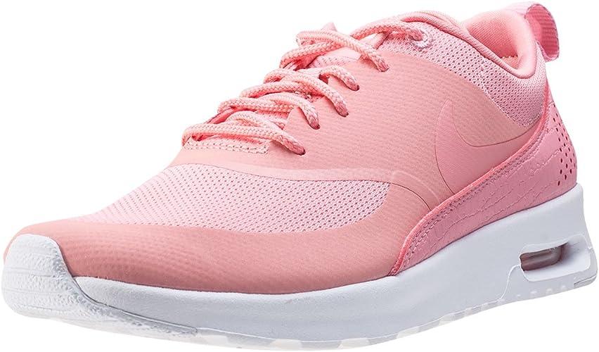 Nike WMNS AIR Max Thea PRM, Baskets Femme, Noir (NoirBlanc