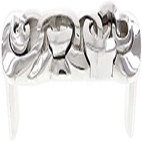 Polished Silver Vicenza Designs P2007 Ariosto 9-Inch Chain Link Pull Appliance