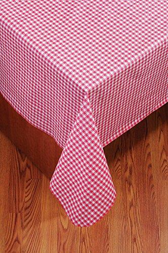 (Ritz PEVA Tablecloth (Picnic Plaid Red, 60 Inch Round))