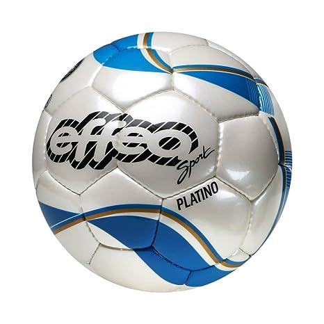 EFFEA 6845/5 Platino Balón Fútbol, Blanco: Amazon.es: Deportes y ...