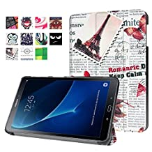 Protection Housse pour Samsung Galaxy Tab A 10.1 SM-T580 T585 Pouce Smart Slim Case Book Cover Stand Flip T580N T585N NEUF