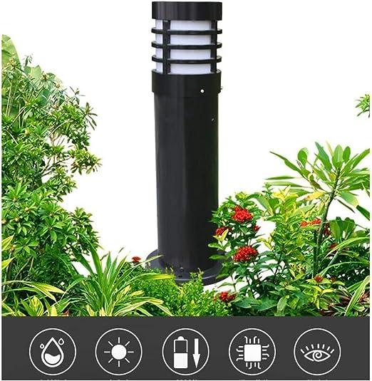 YAYADU Farolas Jardin Exterior Iluminación De Paisaje LED 7W Baja Presión Decoración De Jardín Al Aire Libre Impermeable De Aluminio Antracita (Color : Black-15x60cm): Amazon.es: Hogar