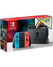 Nintendo Switch Console Edizione Limitata, Rosso/Blu Neon