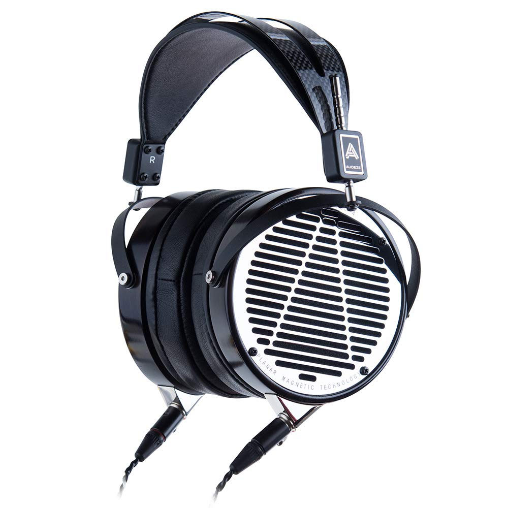 Auriculares Audeze Lcd-4 Over-ear | Open Back | Ebony Wood Ring | Cuero Ear Pads